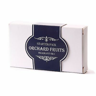 Mystic Moments Fragrant Oil Starter Pack - Orchard Fruits 5x10ml(SP10FOORCHFRUI)
