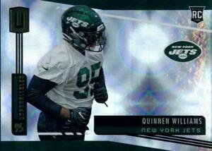 2019-Unparalleled-Infinite-203-Quinnen-Williams-129-150-Jets-Alabama-Rookie-RC