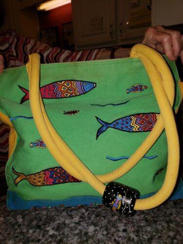 Kulanui Fisch Detail Handtasche Helle Farben rCPrwHq