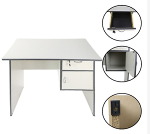 Homedeal-039-s-Computer-Office-Table-Grey