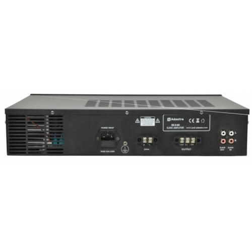 240W Adastra RS Series 100V Line Slave Amplifier