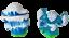 miniature 2 - Skylanders Empire Of Ice / 82234888 and Slam Bam / 83995888 Lot of 2 (m1) VA