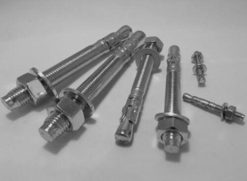 Calcestruzzo in acciaio throughbolt fissaggio tramite bullone Ancore muratura Thru BULLONI