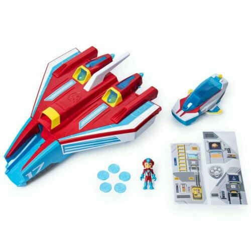 PAW Patrol MIGHTY JET commande CENTER Mighty Pups Super Paws Playset Toy