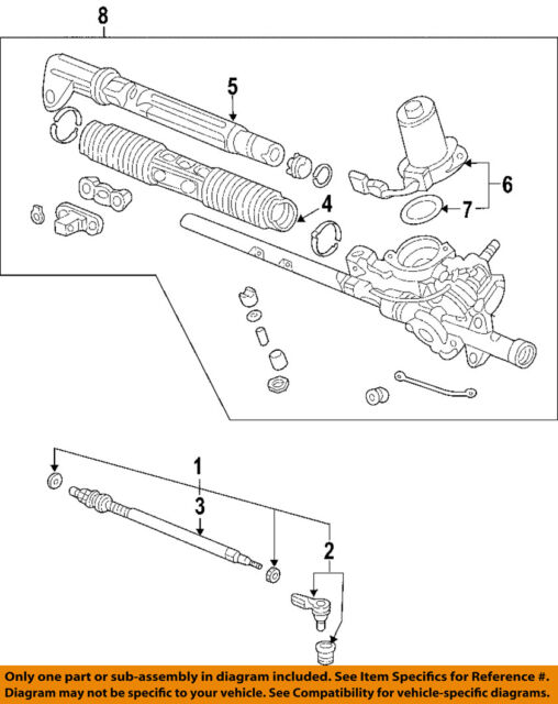 Replacement Parts BuyAutoParts 80-70104AN New New Manual Steering ...