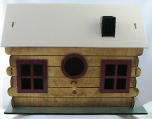 Bird House Adobe Log Cabin Kit