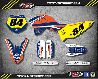 Other Decals & Emblems Full Custom Graphics Kit Barbed Style