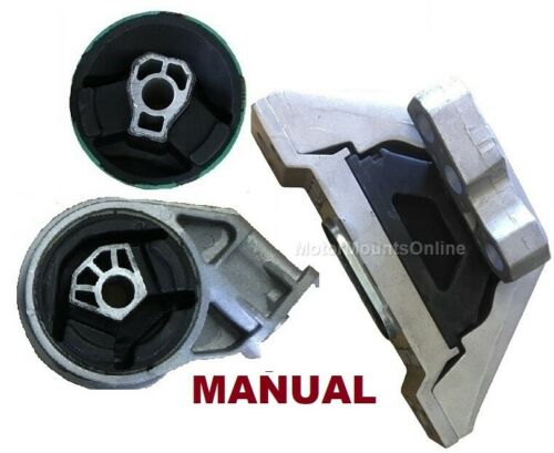 9R1106 3pc Front Motor MOUNT Insert fit MANUAL 2.2L 2.4L Chevy HHR 2006-2011