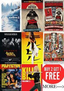 Art Movie Posters A0-a1-a2-a3-a4-a5-a6-maxi In Sizes C347 100% Guarantee Original Quentin Tarantino's Film