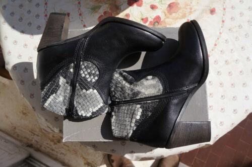 2 donna neri stivali 39 a da da corta manica € E Shoes Blu Tosca cowboy London URxwnp16Tq