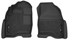 Husky Liners 53331 X-act Contour Floor Liner 15 Explorer Black 2 PC Front