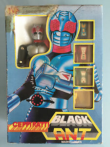 Robots, Monsters & Space Toys Black Ameise Maskiert Fahrer Ceppiratti Neu Good For Energy And The Spleen