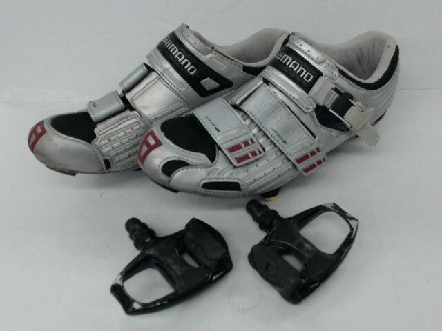 Shimano SH-R131S Cycling shoes w SPD SL Pedals LOT