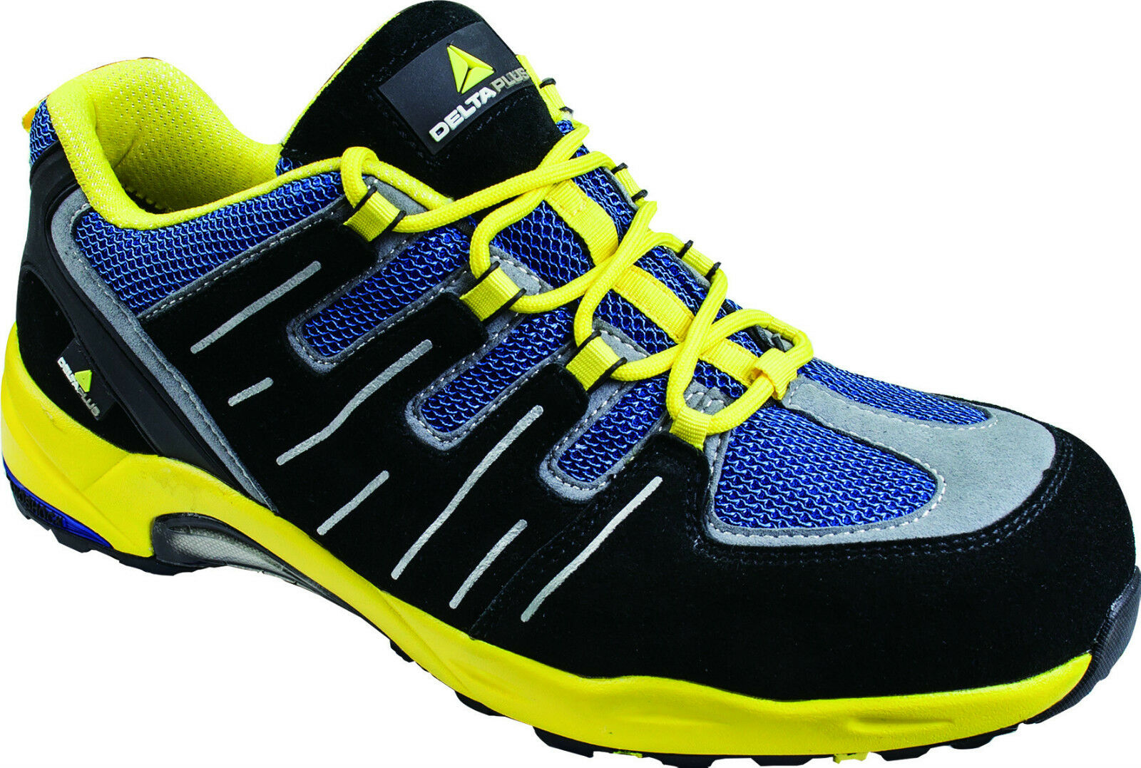 Delta Plus Panoply XR302 Black Yellow Metal Free Composite Toe Safety Trainers