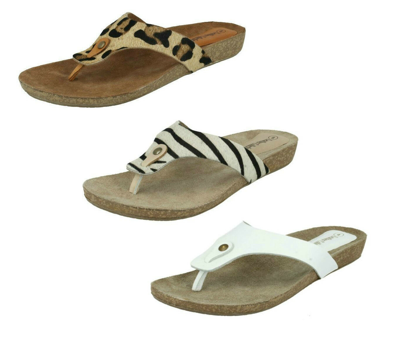 Ladies sandals F10500 leather toe post sandals Ladies by LEATHER COLLECTION Sale Now .00 1d154a
