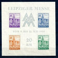 SBZ: BLOCK 5YZa Type VII * (winziger Haftpunkt), Attest Jasch BPP. Mi: 450,-