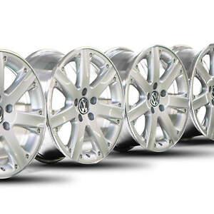 17-Zoll-Alufelgen-VW-EOS-Passat-3C-CC-Scirocco-Golf-5-6-7-Felgen-silber-Westwood