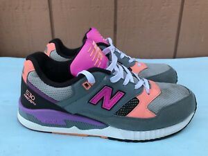uk availability 4fd46 48e17 Details about RARE New Balance 530 Encap Women's Size US 9.5B Gray Fashion  Sneakers W530BWY A9