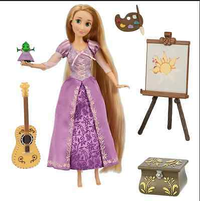 Rapunzel Tangled  Deluxe Talking singing Doll Set - 11'' Disney Store