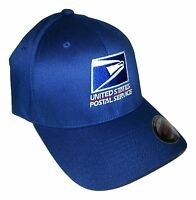 Flexfit Embroidered Flexfit Baseball Hat Yupoong / Navy Blue / Usps1