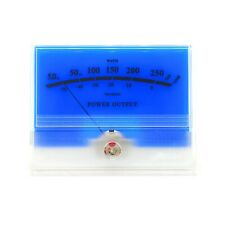 Mcintosh Classic Blue Vu Panel Meter Db Level Power Amplifier Audio With Backlight