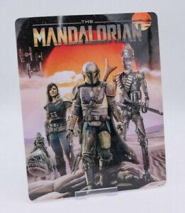 THE MANDALORIAN star wars - Steelbook Magnet Cover (NOT LENTICULAR)