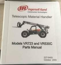 Bobcat Ingersoll Rand Vr723vr530c Parts Manual Pn 22719405