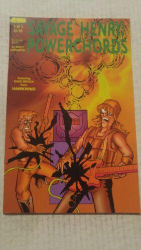 Savage Henry Powerchords #1 May 2004 Aeon Comics Matt Hawarth