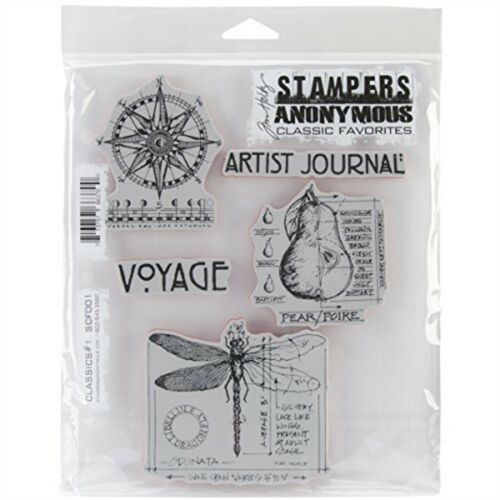 Cling Rbbr Stamp Set Classics 1 Stampers Anonymous Stamps 7x85