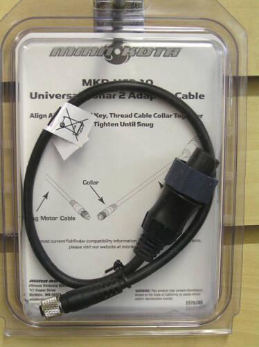 Minn Kota Mkr-Us2-10 Universal Sonar 2 Adaptador 1852060 para Lowrance