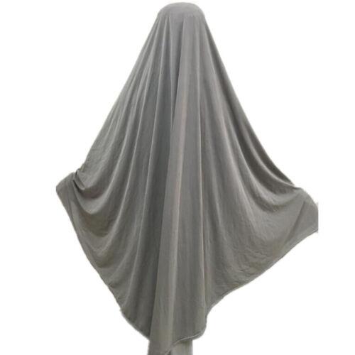 one Piece Amira Hijab Khimar Jilbab Umrah Abaya Scarf pull on ready made