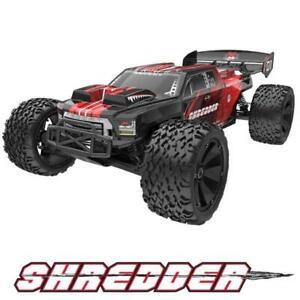 Redcat Racing Shredder 1/6 Scale Brushless Electric Monster RC Truck Red NEW