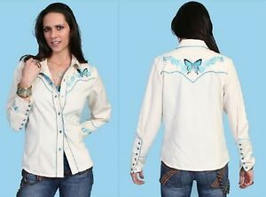CAMICIA-WESTERN-LADY-BY-SCULLY-P-782-ULTIMA-DISPONIBILE