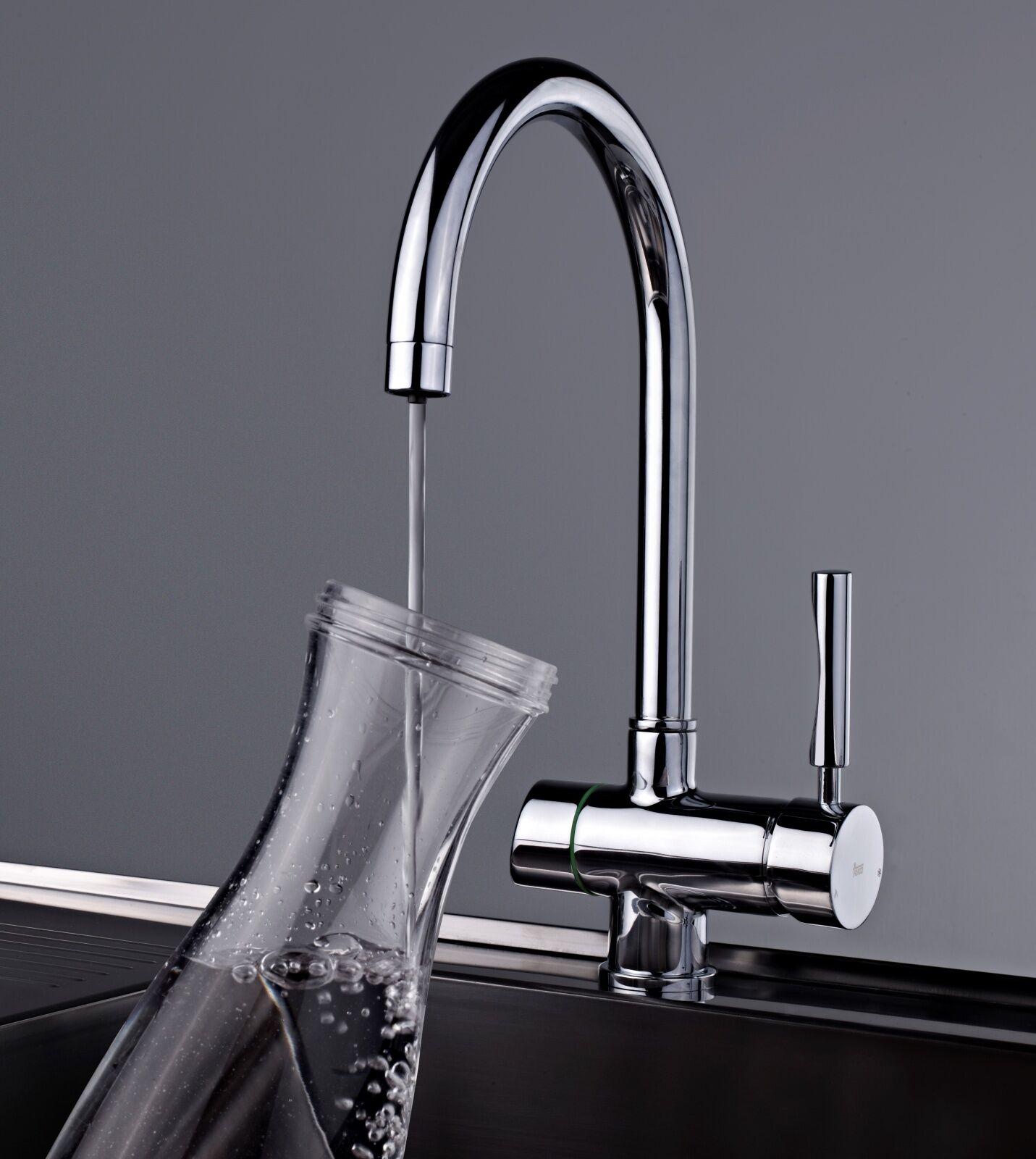 Teka 3-Wege Küchenarmatur Einhebelmischer gefiltertes Wasser direkt Armatur LO10