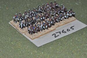 10 Mm Acw/indien-guerriers De 30 Figurines-cav (27505)-afficher Le Titre D'origine Emballage Fort
