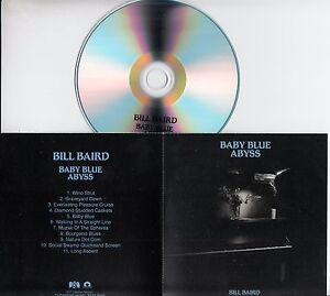 BILL-BAIRD-Baby-Blue-Abyss-2017-UK-11-trk-promo-test-CD