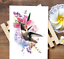 thumbnail 1 - Colibri Temporary Tattoo Stickers Body Art Waterproof Fake Hummingbird