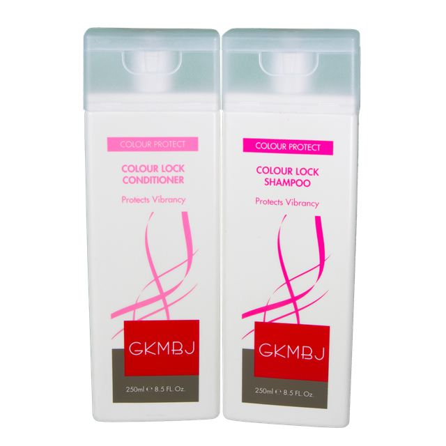 GKMBJ Colour Lock Shampoo & Conditioner 250ml - Cleanses - Protects Vibrancy