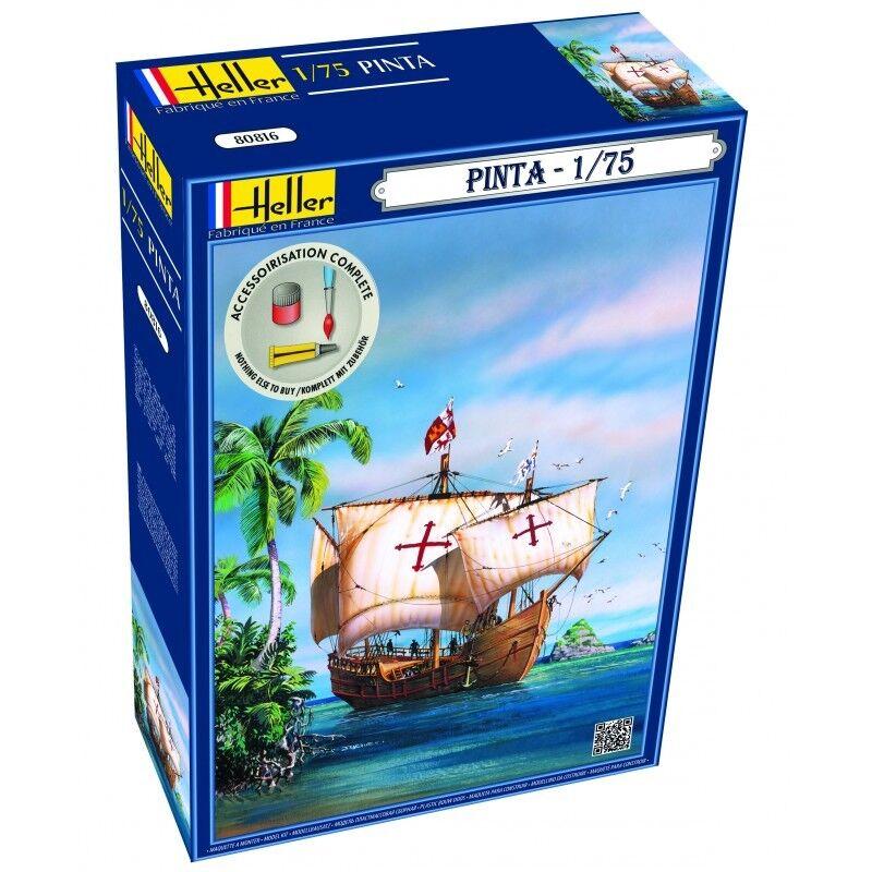 Heller 1 75 Pinta Sailing Ship Gift Set