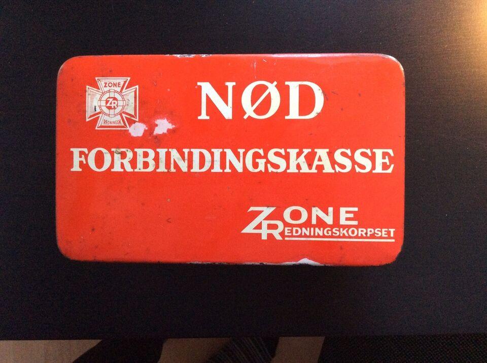 Andre samleobjekter, Nødforbindingskasse Zonen