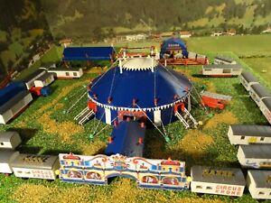 Circus-Krone-Spur-N-Circuszelt-Bausatz-fuer-Modellbahn-Anlage-Circus-etc