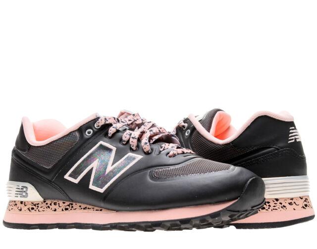 New Balance 574 Atmosphere Brown/Silver/Orange Running Shoes ML5740BG Size 8.5D