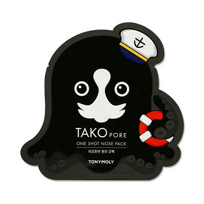 [TONYMOLY] Takopore One Shot Nose Pack - 10pcs