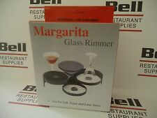 *NEW* 3-Tier Margarita Glass Rimmer Salt Lime Sugar