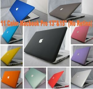 11 Color Rubberized Frosted Hard Case Cover For Macbook Pro 13\