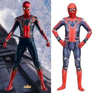 Homecoming Spiderman Costume Marvel Superhero Fancy Dress For Kids Adult Cosplay