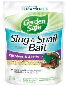 Bien Informé Jardin Sécurité Slug & Snail Bait (hg-4536) (2 Lb)-afficher Le Titre D'origine Avoir Un Style National Unique
