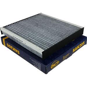 Original-SCT-Filter-Innenraumluft-Pollenfilter-Innenraumfilter-SAK-205