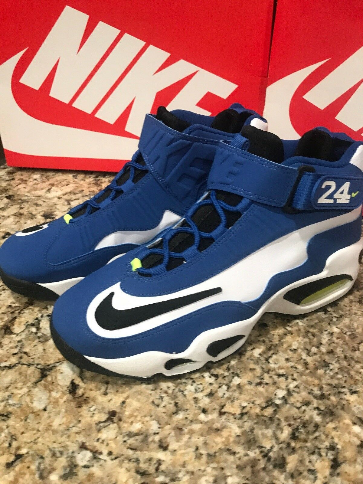 Nike Men's Air Griffey Max 1 Varsity Royal Blue 354912-400 White Volt Size 11 354912-400 Blue a0a3c1