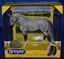 Breyer~2013~ICICLE~Glossy Dapple Grey Bouncer~LT 3,500~WOW~NEW